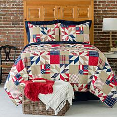 C&F Home Levi King Quilt Set