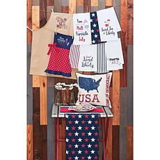 C&F Home Liberty Stars Table Runner
