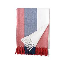 C&F Home Liberty Stripe Throw