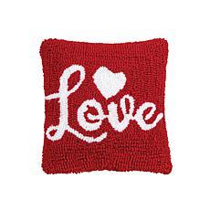 C&F Home Love Script Pillow