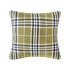 C&F Home Max Plaid Tarragon Pillow