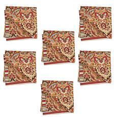 C&F Home Mirabelle Napkin Set of 6
