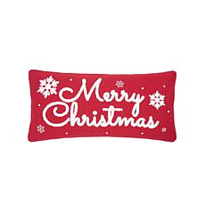 C&F Home Red & White Christmas Pillow