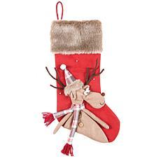 C&F Home Reindeer Stocking