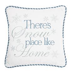 C&F Home Snow Place Like Home Pillow