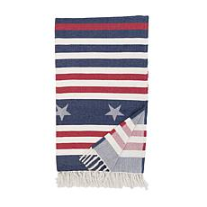 C&F Home Stars And Stripes Throw