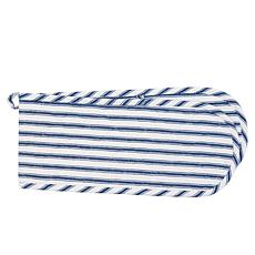 C&F Home Ticking Stripe Navy Double Oven Mit