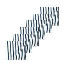 C&F Home Ticking Stripe Navy Napkin Set of 6