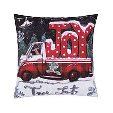 C&F Home Tree Lot Joy Pillow