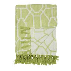 C&F Home Trellis Peridot Throw