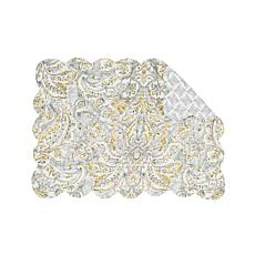 C&F Home Volterra Damask Placemat 6-Pack