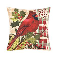 C&F Home Winter Cardinal Pillow