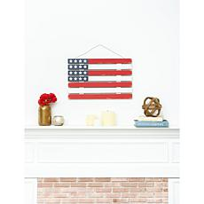 C&F Home Wooden Flag Wall Décor