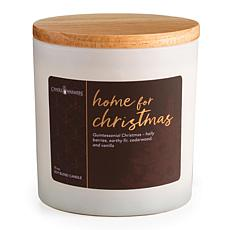 Candle Warmers Home for Christmas Soy Wax Holiday Candle 15 oz.
