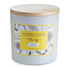 Candle Warmers Purify Aromatherapy 15 oz. Soy Wax Candle