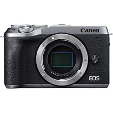 Canon EOS M6 Mark II Mirrorless Silver Digital Camera Body