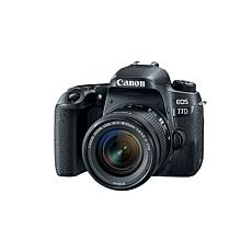 Canon EOS Rebel 77D 24.2MP Digital SLR Camera with EF-S 18-55mm Lens