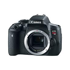 Canon EOS Rebel T6i 24.2MP Digital SLR Camera with EF-S 18-55mm Len...