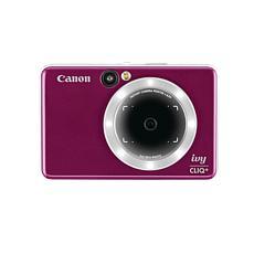 Canon IVY CLIQ+ Ruby Red Instant Camera Printer