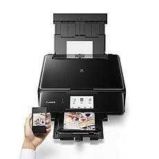 Canon PIXMA TS8120 Wireless All-In-One Inkjet Printer with Software