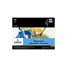 "Canson Montval Watercolor Paper 15"" x 20"" Pad of 12 140 lb. Cold Press"