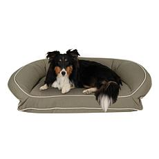 Carolina Pet Sm/Md Classic Canvas Bolster Bed with Memory Foam