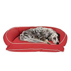 Carolina Pet Sm/Md Classic Canvas Bolster Pet Bed