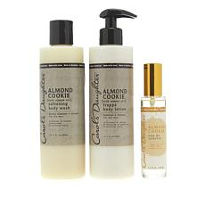 Carol's Daughter Almond Cookie 3-piece Bath and Body Collection