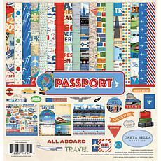 "Carta Bella Collection Kit 12"" x 12"" - Passport"
