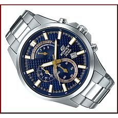 Casio Edifice Stainless Steel Men's  Chronograph Watch