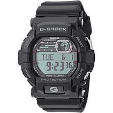 Casio G-Shock Men's Vibration Alarm Black Resin Strap Sport Watch