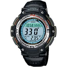 Casio Men's Green Sports Gear Digital Compass Watch