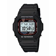 Casio Men's Solar Powered G-Shock Watch with Atomic Timekeeping