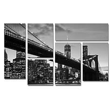 CATeyes 'Brooklyn Bridge 5' Multi-Panel Art Collection