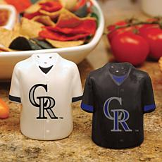 Ceramic Salt and Pepper Shakers - Colorado Rockies