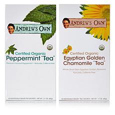 Chamomile Tea AND Peppermint Tea - 30 + 30