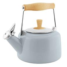 Chantal Sven Teakettle with Natural Wood