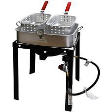 Chard Dual Fryer Basket Cooker