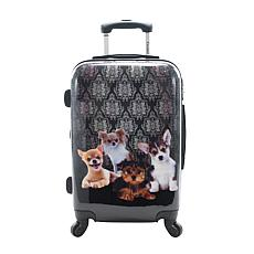 Chariot 20-inch Hardside Carry On Luggage - Doggies