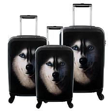 Chariot 3-piece Hardside Luggage Set - Husky
