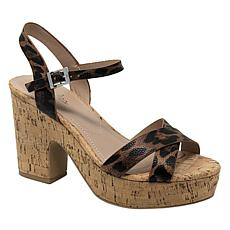 Charles By Charles David Departed Strappy Heeled Sandal