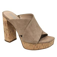 Charles By Charles David Illy Platform Leather or Suede Peep-toe Heel
