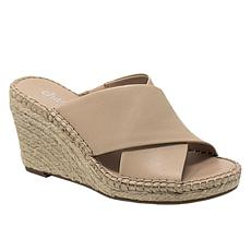 Charles By Charles David Neutron Criss-cross Wedge Sandal
