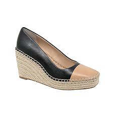 Charles David GLIDER Leather Wedge Heel