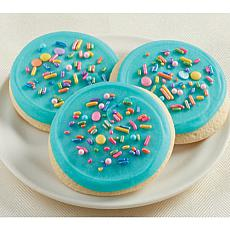 Cheryl's 24-Piece Frosted Sparkle Cutout Cookies