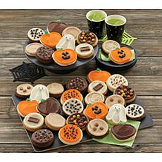 Cheryl's 36-piece Premiere Halloween Frosted Cookies