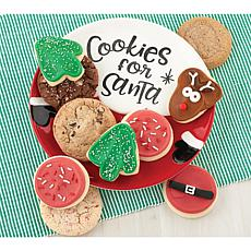 Cheryl's Cookies for Santa Plate