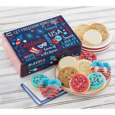 Cheryl's Patriotic Cookie Box