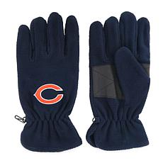 Chicago Bears NFL Embroidered Fleece Gloves