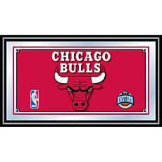 Chicago Bulls NBA Framed Logo Mirror